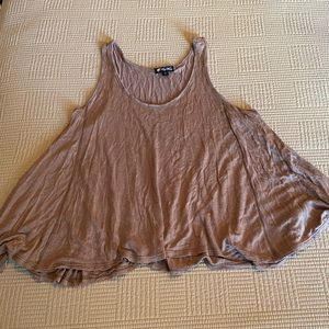 Lily White Taupe Swing Tank
